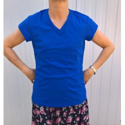 Koszulka bawełniana V-Neck