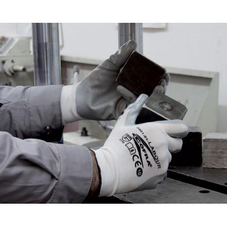 Rękawice powlekane nitrylem LABOUR (2 kolory)