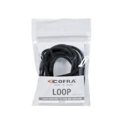 Sznurowadła Cofra LOOP BLACK 150cm