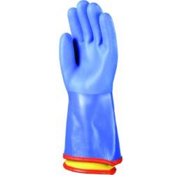 Rękawice PVC ocieplane 3790